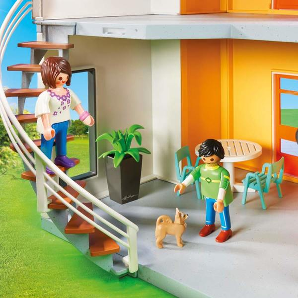 9266 maison moderne playmobil city life playmobil king. Black Bedroom Furniture Sets. Home Design Ideas