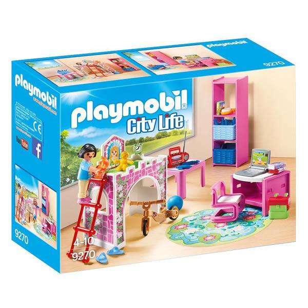 9270 chambre d 39 enfant playmobil playmobil king jouet - Playmobil chambre enfant ...
