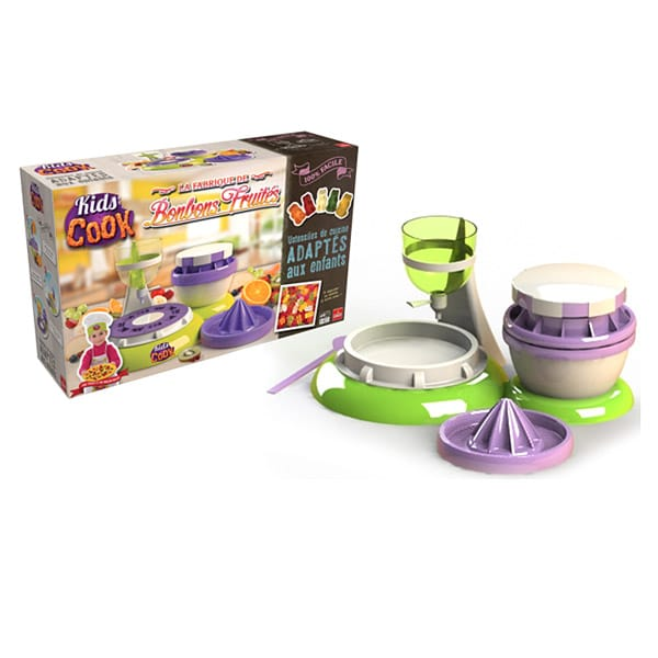 Fabrique de bonbons fruit s goliath king jouet cuisine for Cuisine king jouet