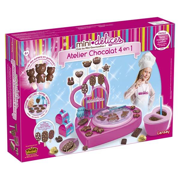 mini d lices atelier chocolat 4 en 1 lansay king jouet cuisine et dinette lansay jeux d. Black Bedroom Furniture Sets. Home Design Ideas