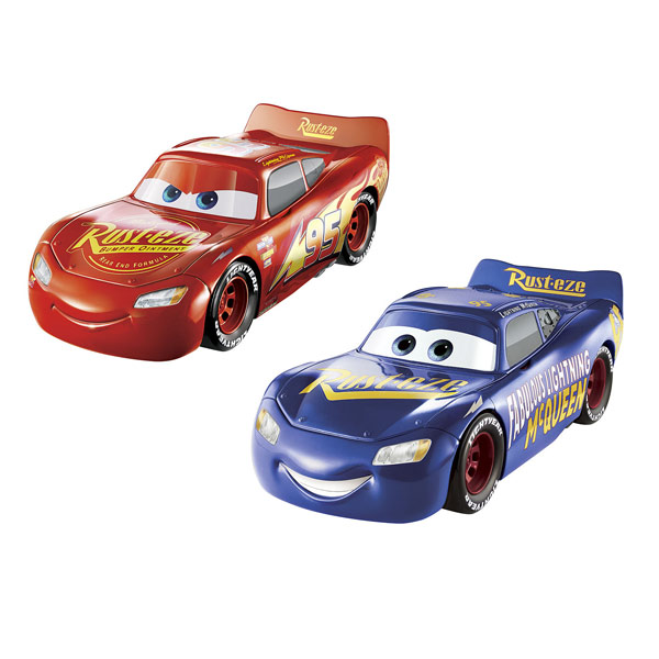 cars 3 voiture interactive flash mcqueen 3 en 1 mattel king jouet les autres v hicules. Black Bedroom Furniture Sets. Home Design Ideas