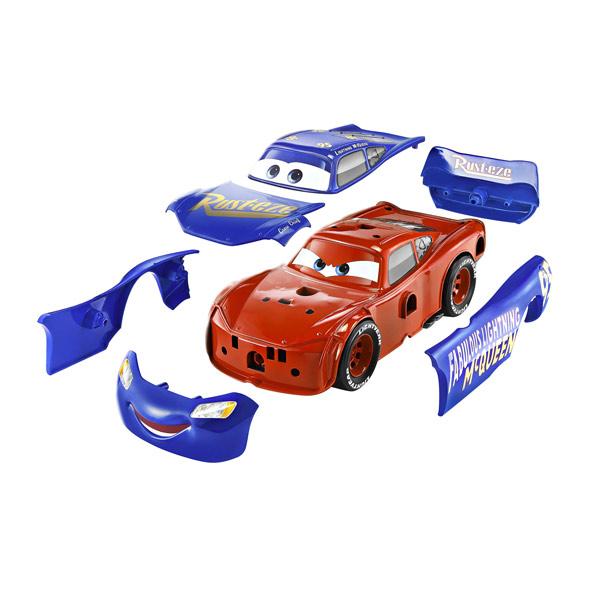 Cars 3 - Voiture interactive Flash Mcqueen 3 en 1