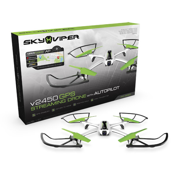 Drone Sky Viper GPS Streaming