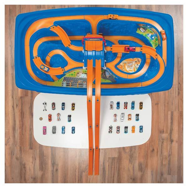 Hot Wheels-Table circuit