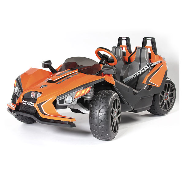 voiture lectrique polaris slingshot 2 places peg perego king jouet v hicules lectriques peg. Black Bedroom Furniture Sets. Home Design Ideas