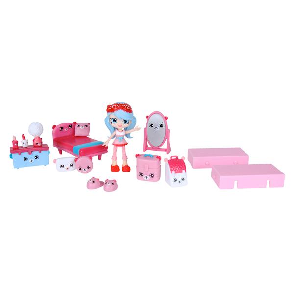 Shopkins - Coffret déco et poupées