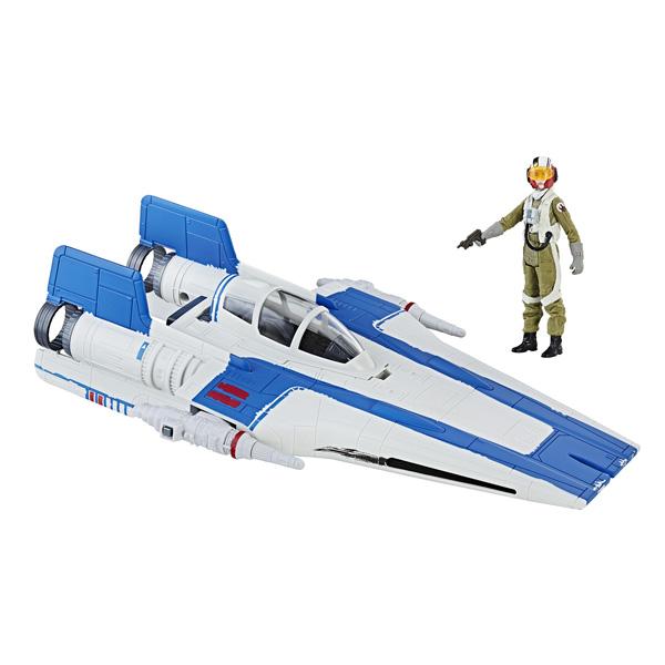 Star Wars Vaisseau et Figurine