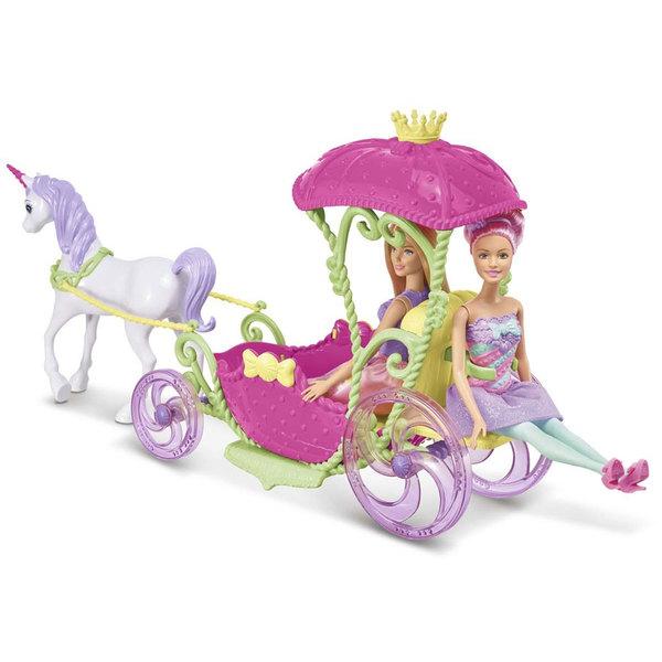 Barbie Princesse et sa calèche