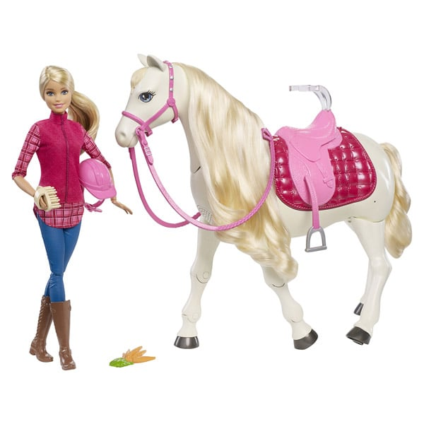 Barbie et son cheval de r ve mattel king jouet poup es - Image de barbie ...