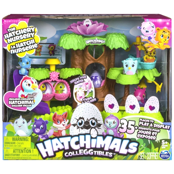 hatchimals arbre closion spin master king jouet figurines et cartes collectionner spin. Black Bedroom Furniture Sets. Home Design Ideas