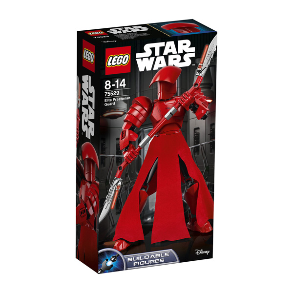 Les amateurs de la saga Star Wars vont apprécier cette figurine qui représente Elite Praetorian Guard issue de l´épisode VIII : Les derniers Jedi. Protégez le Premier Ordre avec le soldat de la garde prétorienne délite du leader suprême Snoke. Optez pour