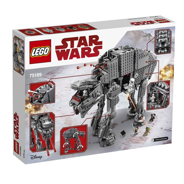 75189 - LEGO® STAR WARS - First Order Heavy Assault Walker