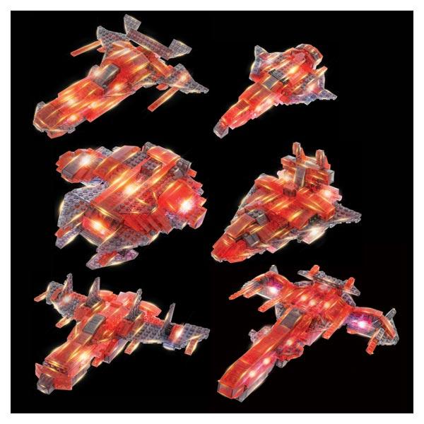 Vaisseau spatial à construire 12 en 1 Laser Pegs