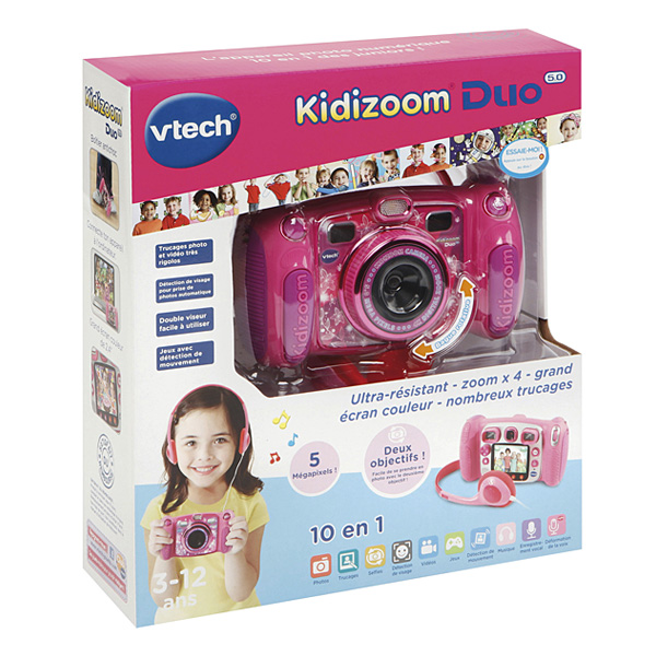 Appareil photo Kidizoom duo 5.0 rose