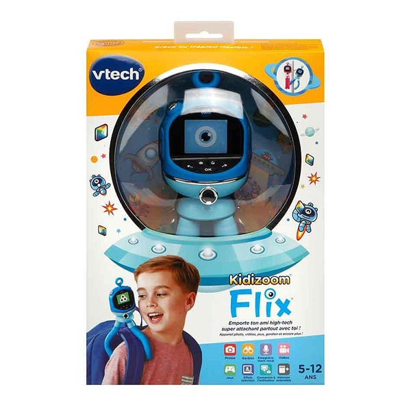 Compagnon intéractif Kidizoom Flix bleu
