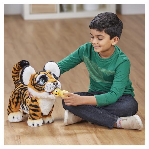 FurReal Friends-Peluche tigre Tyler rugissant