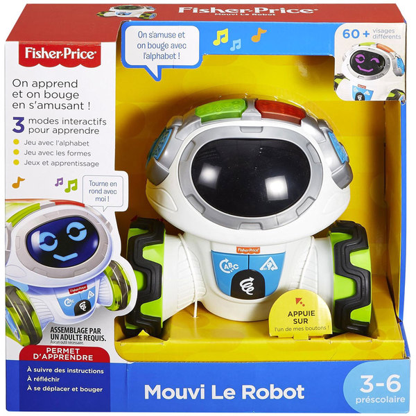 Fisher-Price - Mouvi le Robot