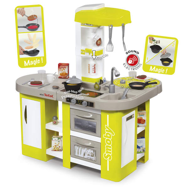 Tefal cuisine studio xl 36 accessoires smoby king for Cuisine tefal smoby