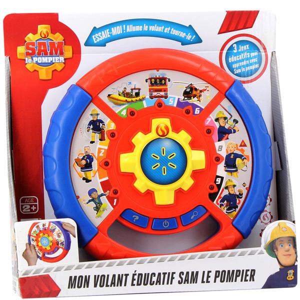 Roue éducative Sam le Pompier