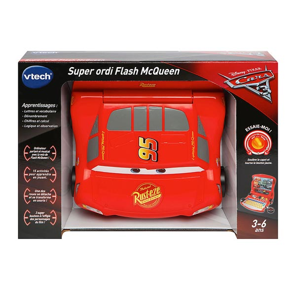 Cars 3-Ordinateur Flash MacQueen