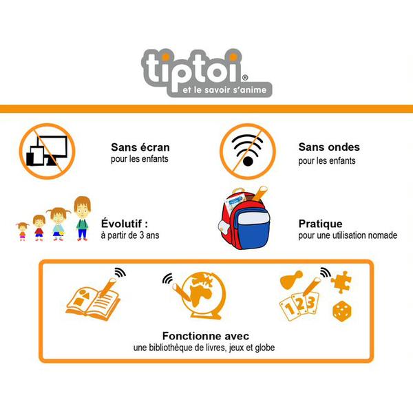 Tiptoi - Destination savoir l