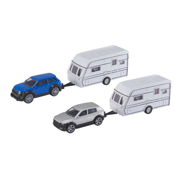 Voiture Avec Caravane Motor Co King Jouet Voitures