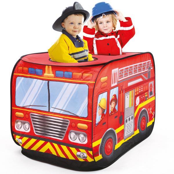 Tente camion de pompier