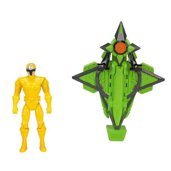 Power Rangers Véhicule Méga morph Ninja Steel