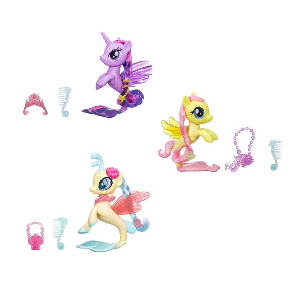 Coffret My little pony-Poney sirène scintillant 15 cm