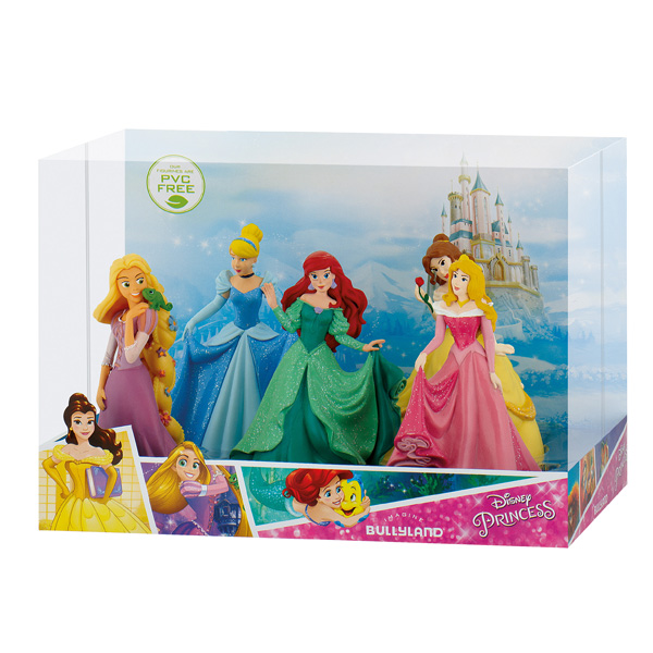 coffret cristal figurines disney princesses bully king jouet figurines bully jeux d. Black Bedroom Furniture Sets. Home Design Ideas