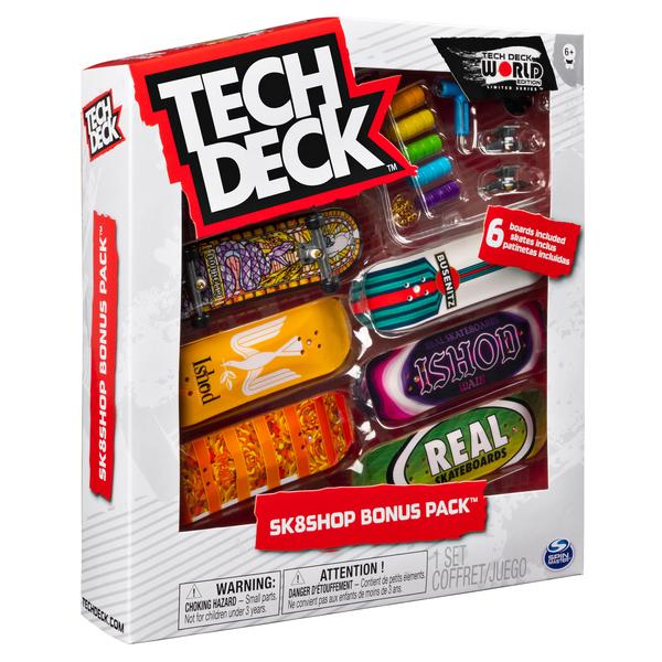 Tech Deck - Coffret Skate Bonus Pack - Mini skate à personnaliser