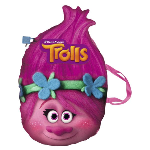 Découvrez le coussin secret Trolls ! Votre enfant sera ravi de pouvoir transporter son coussin secret lors des temps calme à l´école ou chez ses amis. Non seulement il décorera la chambre mais pourra aussi être utiliser pour écouter la musique, écrire et