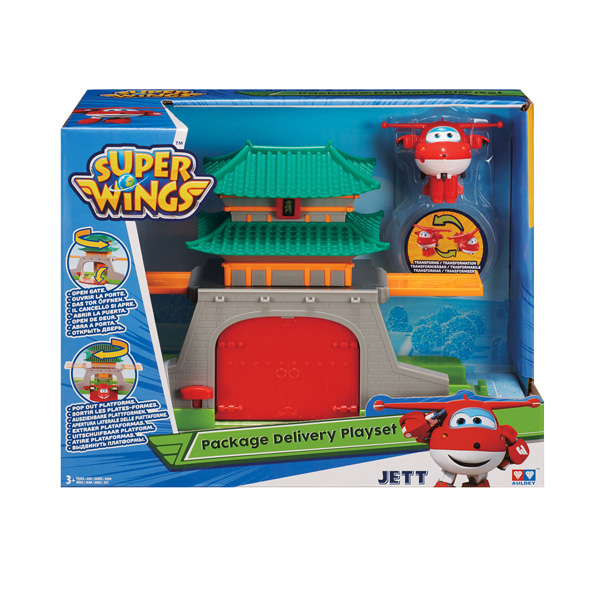 Super Wings Jett Aéroport Seoul