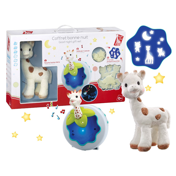 sophie la girafe coffret bonne nuit vulli king jouet. Black Bedroom Furniture Sets. Home Design Ideas