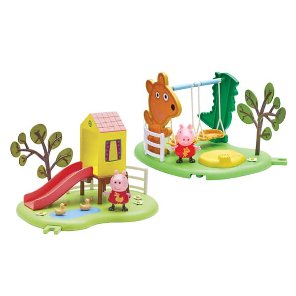 aire de jeu peppa pig giochi king jouet h ros univers giochi jeux d 39 imitation mondes. Black Bedroom Furniture Sets. Home Design Ideas