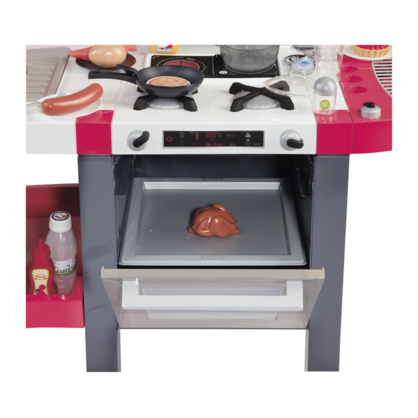 tefal cuisine super chef deluxe 46 accessoires smoby king jouet cuisine et dinette smoby. Black Bedroom Furniture Sets. Home Design Ideas
