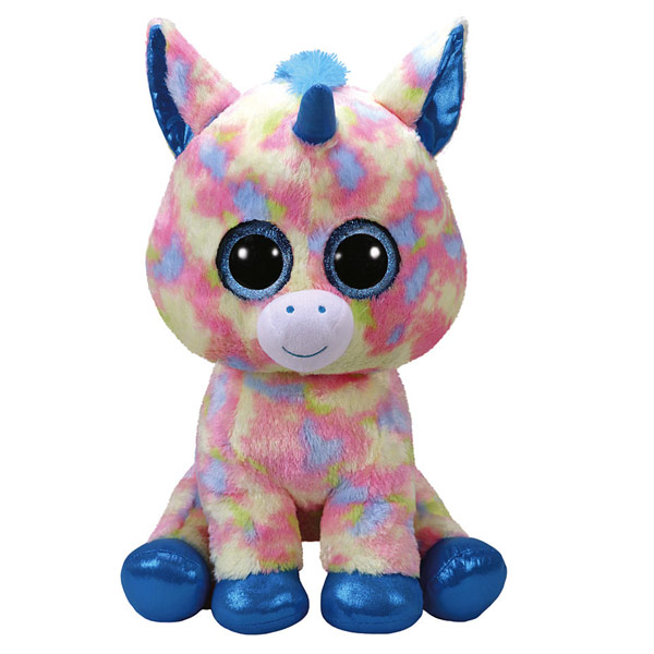 beanie boo 39 s peluche blitz la licorne 40 cm ty king jouet peluches ty poup es peluches. Black Bedroom Furniture Sets. Home Design Ideas