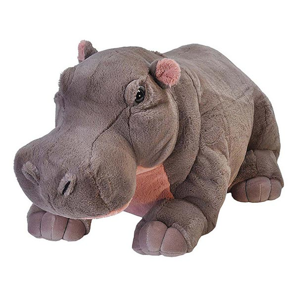peluche hippopotame 76 cm wild republic king jouet peluches g antes wild republic poup es. Black Bedroom Furniture Sets. Home Design Ideas