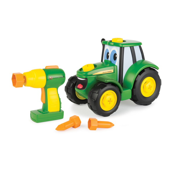 john deere je construis mon tracteur johnny tomy king jouet 1er age tomy jeux de construction. Black Bedroom Furniture Sets. Home Design Ideas