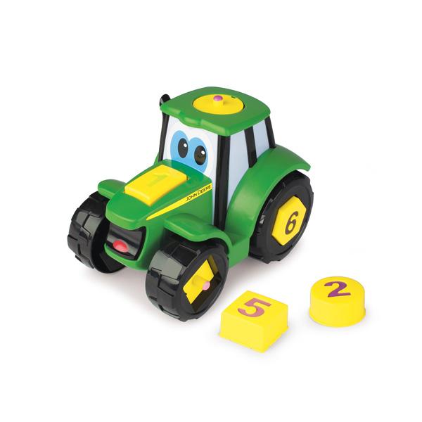 Johnny le tracteur formes et chiffres