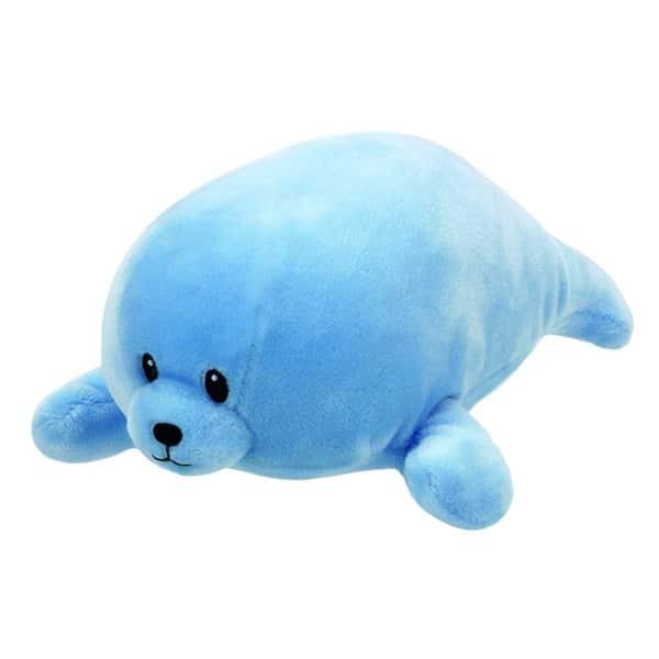Peluche Baby Ty - Squirt le Phoque bleu 20 cm