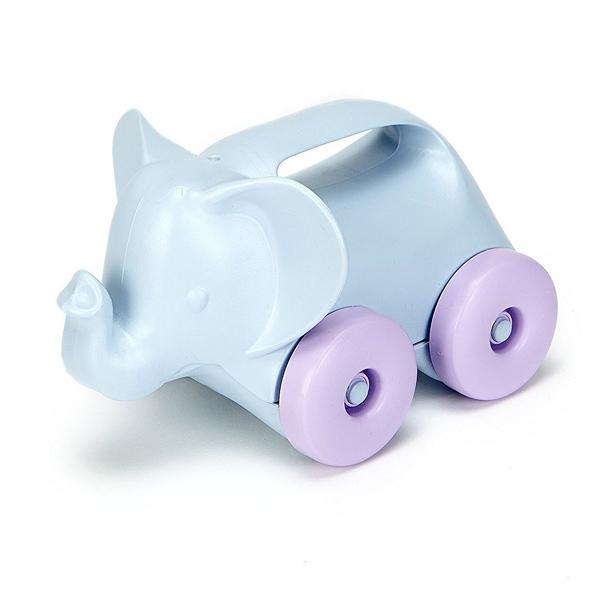 Green Toys-Eléphant à roulettes