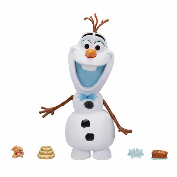 Reine des Neiges-Figurine Olaf gourmand