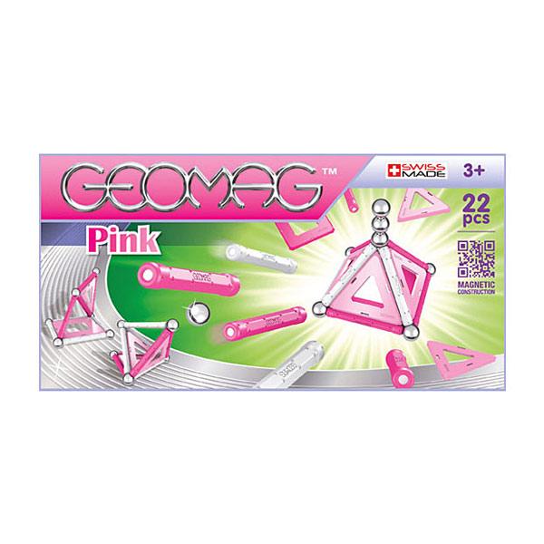Construisez ce qui´il vous plaît avec Geomag Pink ! Un coffret composé de 22 pièces de couleurs rose pastel , pour vous permettre de fabriquer des constructions en 2D ou en 3D avec des couleurs tendances. Avec les barres magnétiques; laissez libre cours à