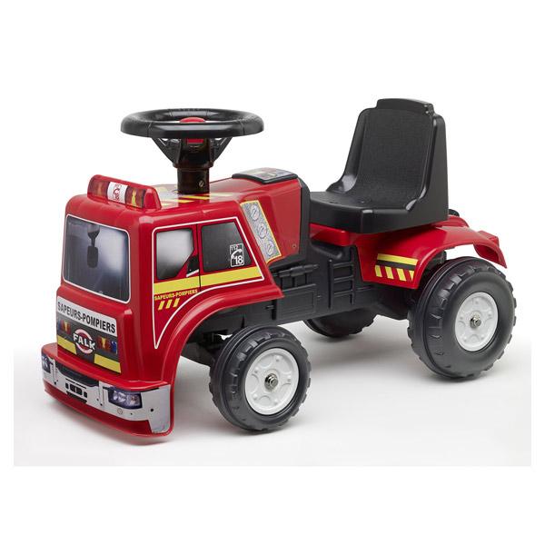Porteur pompier baby falk king jouet porteurs jouets for Jouet exterieur 3 ans