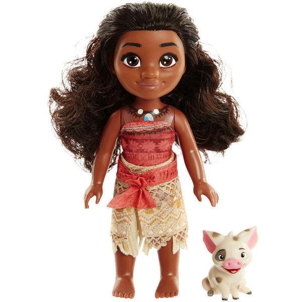 Poupée Disney Vaiana 15 cm et Pua - Disney Princesses