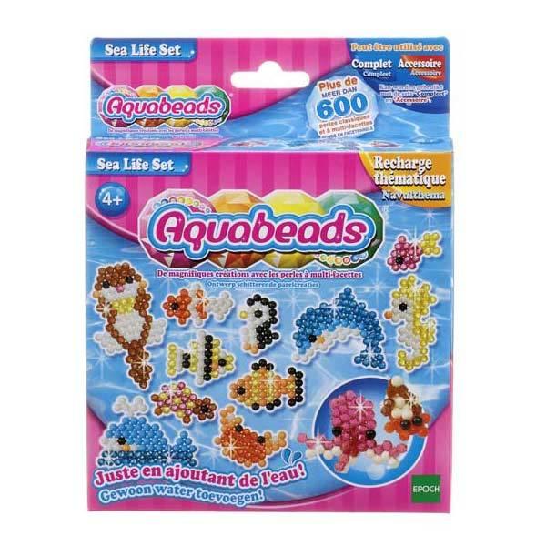 Aquabeads-Coffret vie marine