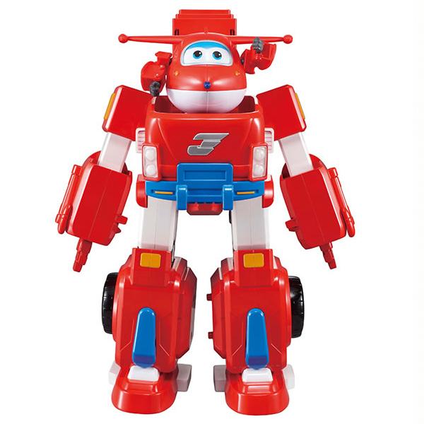 Super Wings - Jett Super Robot Transformable