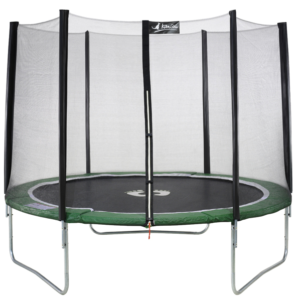 trampoline 305 eco avec filet kangui king jouet. Black Bedroom Furniture Sets. Home Design Ideas