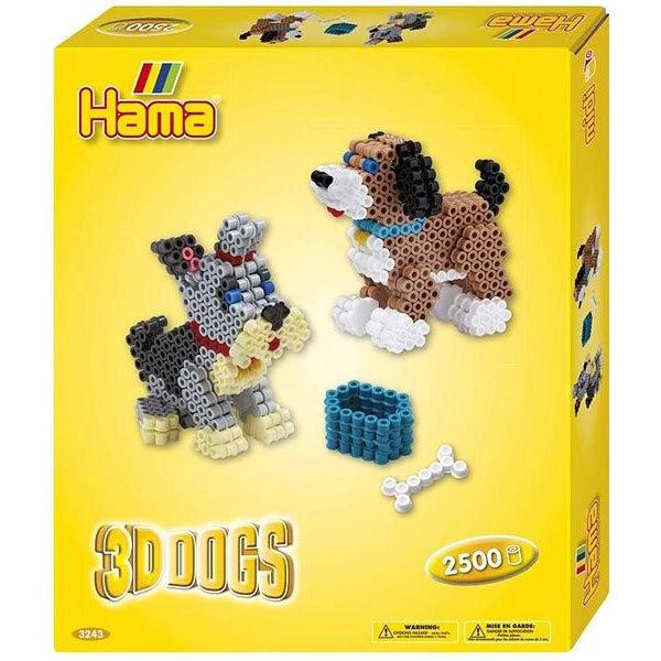 Perles à repasser chien 3D